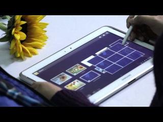 Ролик о Samsung GALAXY Note 10.1