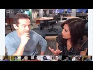 11/27/12 Jason Isaacs MyFoxLA w/Maria Quiban Tony McEwing