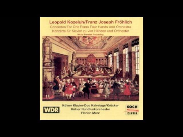 Das Kölner Klavier-Duo (Elzbieta KalvelageMichael Krücker) spielt plays Franz Joseph Fröhlich