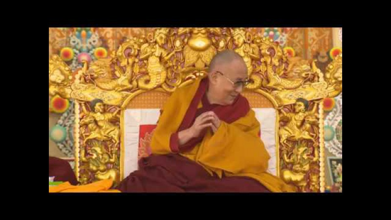Учения ЕС Далай-ламы в Бодхгае (2018). Алмазная сутра. День 1