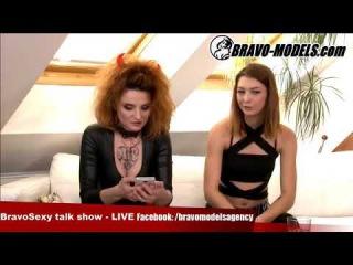 BravoSexy talk show 08/2017 se Sarah Star host TERA LINK pornoherecka
