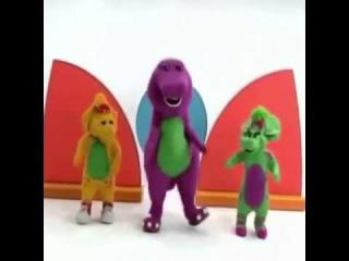 Vine: Barney going hard on 'drop it like its hot'