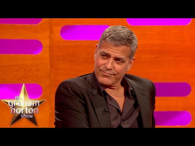 George Clooney Apologises For Destroying Batman The Graham Norton Show