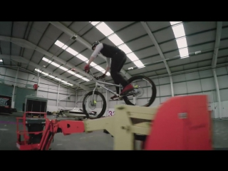 Duncan Shaw Rides a Cherry Picker