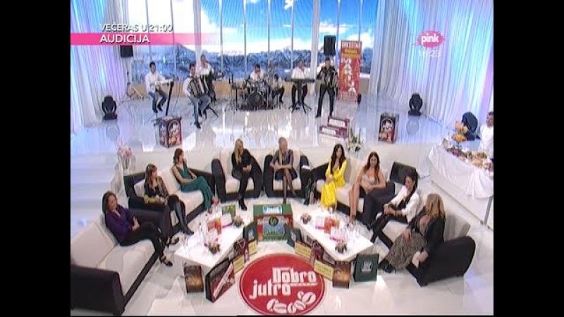 Katarina Zivkovic Gostovanje Nedeljno popodne kod Lee Kis Tv Pink 08 03 2015
