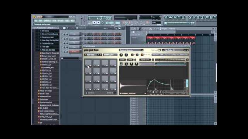 FPC пресет как пользоваться FPC в FL Studio и записывать собственные наигранные биты