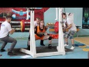 Julia Vins -Total 1000 lbs - Powerlifting Meet Iron Bull 22.3 2015