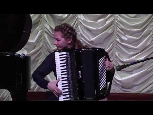 Гран-при конкурса «Аккордеон Плюс» 2012 Анна Крышталёва