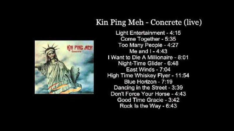 Kin Ping Meh Concrete live DoLP Vinyl Rip Full Album