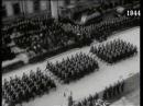 Vojenská prehliadka v Bratislave pri príležitosti 5 výročia vzniku Slovenského štátu 14 3 1944