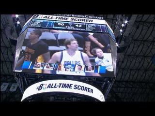 Dirk Nowitzki Moves to 8th on the All-Time Scoring List