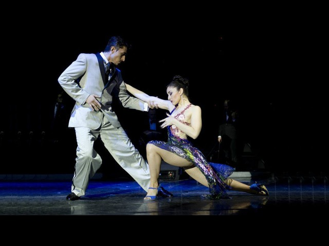 Tango El huracan. Julian Sanchez and Melina Mourino. Танго. Хулиан Санчес и Мелина Моуриньо