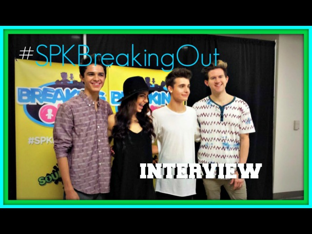 Breaking Out (Andrea Russett, Ricky Dillon, Brent Rivera, WeeklyChris) Interview wJohn Panichella