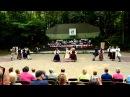 Latvian Americans dancing Es skrienu by Lauris Reiniks. (Garezers 2011, Michigan)