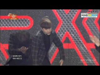 150408 EXO (엑소) - Overdose (중독) @ Music Bank in Ha Noi 2015