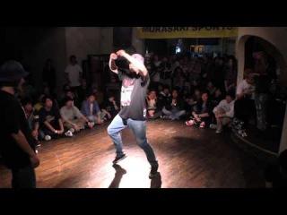 HIRO vs Twins Daddy  KATSUMI FINAL [DANCE@LIVE HOUSE 2015 KANTO vol.4]