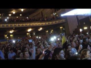 В Лондоне на концерте «Океана Эльзы» зал с гордостью спел гимн Украины .