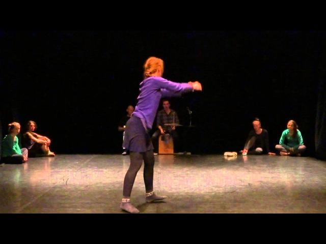 Tanya Zurkovich group score dance improvisation PushOK fest in Kiev