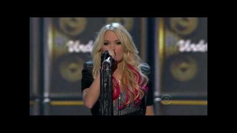 Carrie Underwood Undo It Walk This Way w Steven Tyler @ ACM's '11 D