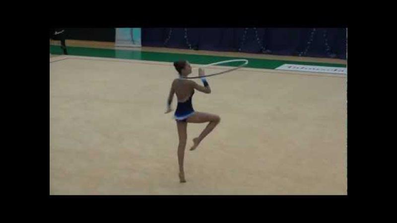 Alina Zareinik SVS Open 2012 hoop RUS