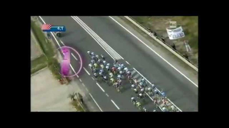 Cadel Evans a Daniele Righi Giro dItalia 2010 12.etapa