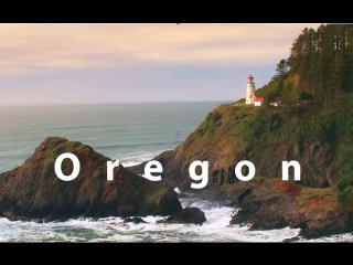 Oregon Colors & Waterfalls in 4K UHD Stock Footage