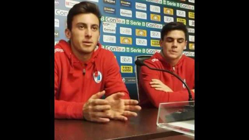 Birindelli e Favale dopo Pisa Spezia 0 0