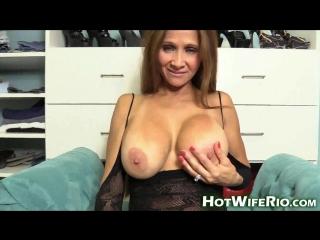 Hot wife rio lingerie milf tease #2 (hotwiferio clips4sale oct16wk5) [2016 г.,milf, mature, dirty talk, big tits, dildo, s