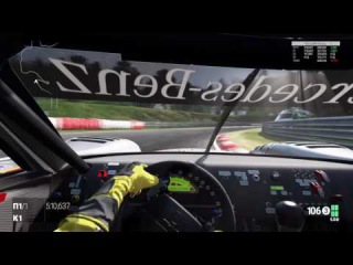Project CARS PS4: Mercedes-Benz AMG CLK-LM Race Car - Nurburgring 24h