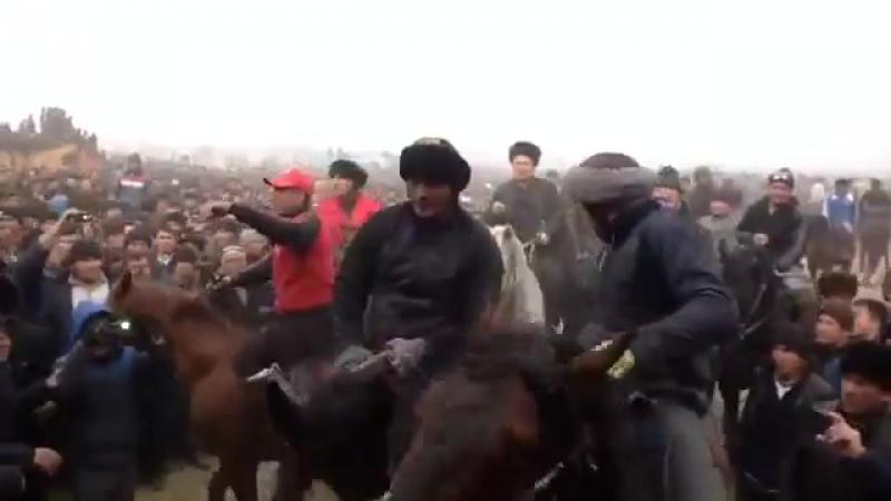 Кокпар Байларжандар Жәнібек Палуан Өзбекстанда салымды болған 2016