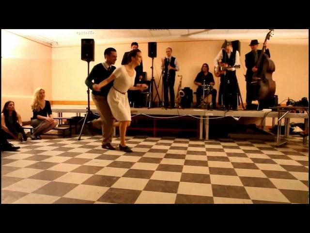 Paris Swingjammerz - Tatiana Udry JB Mino social dancing demo