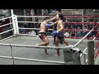 Nazee (Tiger Muay Thai) vs Jocho (Rawai Supa Muay Thai) @ Suwit Stadium 29/4/16