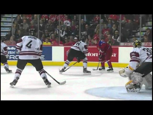 [Клип] МЧМ 2012 | 30.12 | Групповой этап | Россия - Латвия 14 0