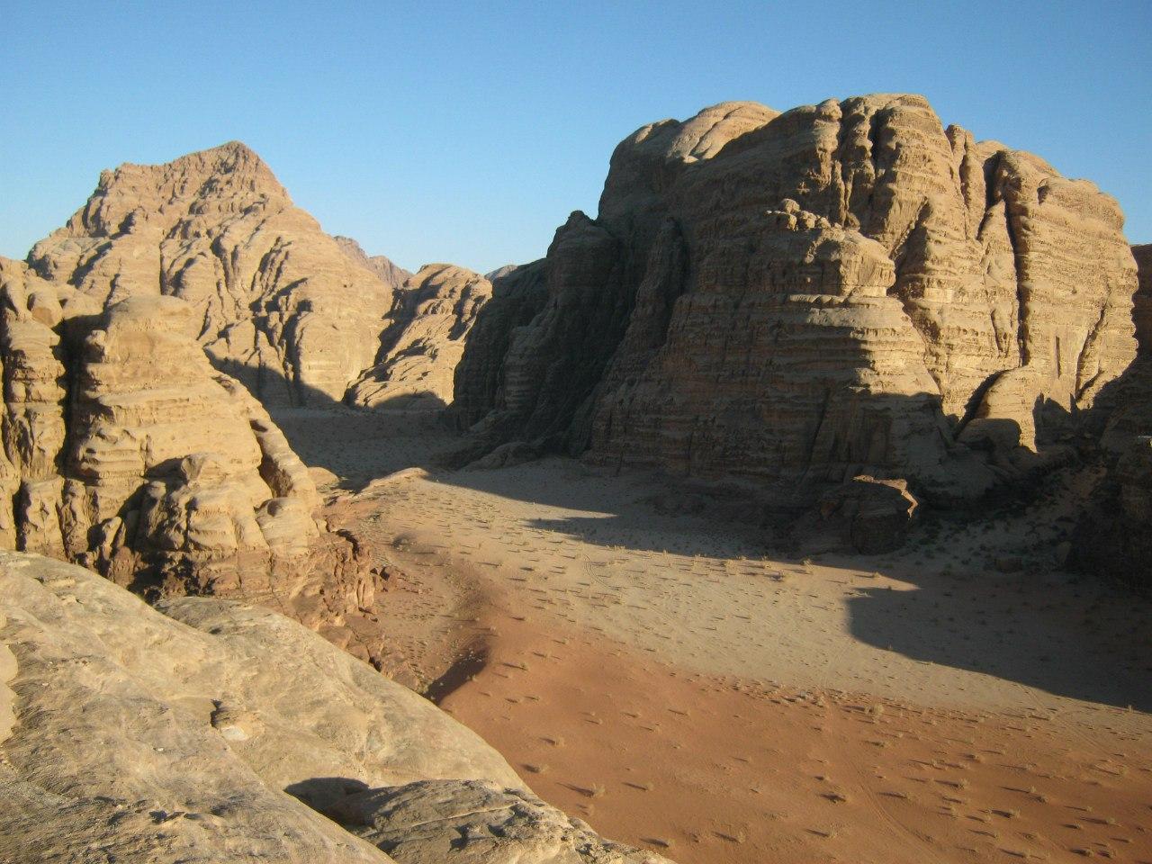 Красивейший скально-пустынный заповедник Вади Рам