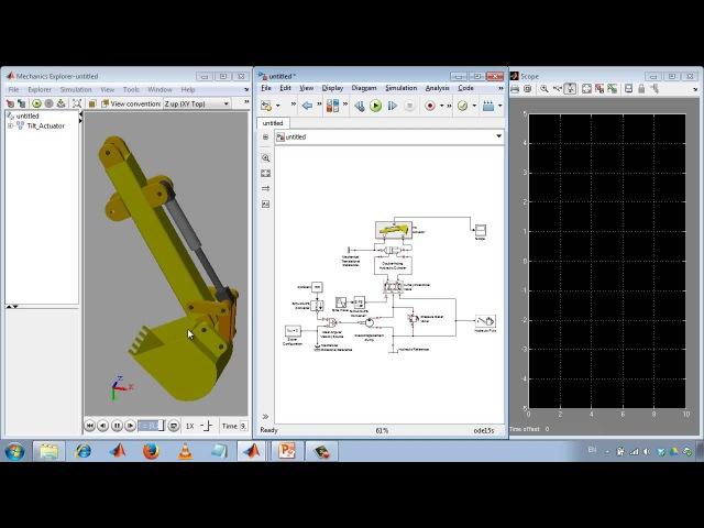 Моделирование гидравлических систем в Simulink