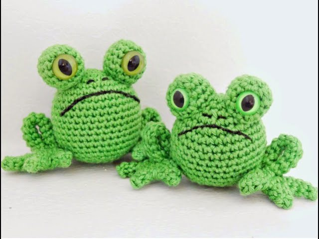 Лягушка амигуруми. Схема вязания.Лягушка крючком.Вязаные игрушки крючком.