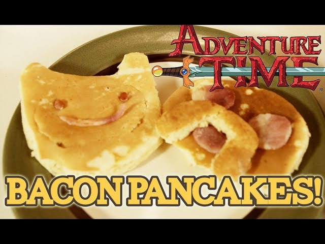How to Make BACON PANCAKES from Adventure Time S2 E12