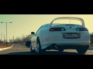 Тест-драйв TOYOTA SUPRA (Белая пуля) Тойота супра