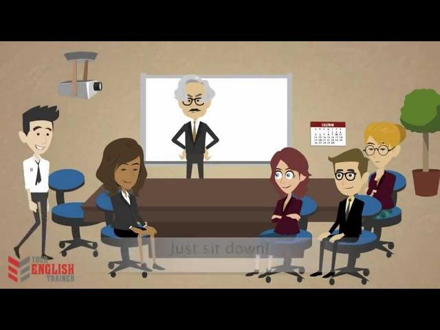 Уроки разговорного английского. Study Office. Episode 6.
