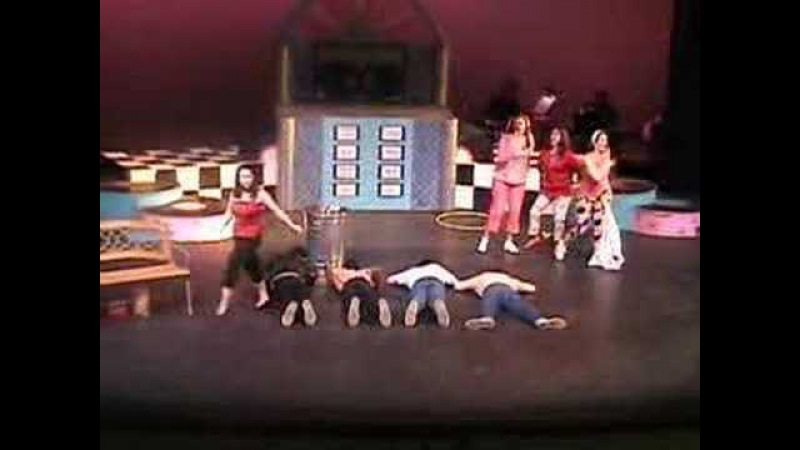 LCHS Grease Look at Me I'm Sandra Dee