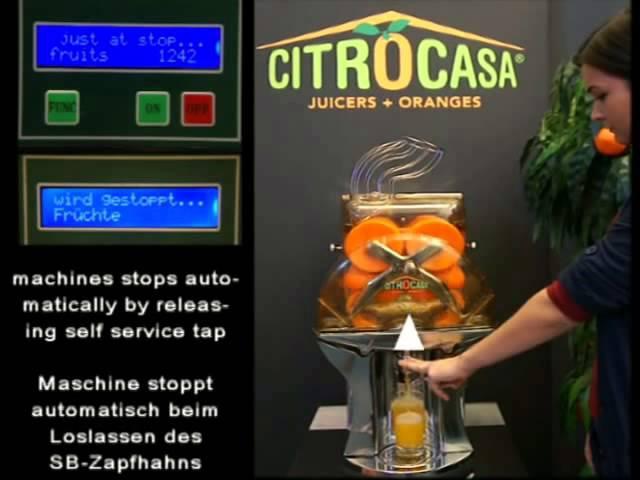 Автоматическая соковыжималка для апельсинов M SB_ROVABO