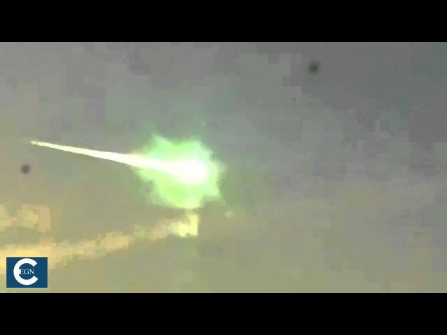 НЛО сбил метеорит на Урале