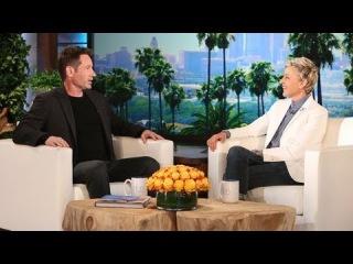X Files Star - David Duchovny on Ellen