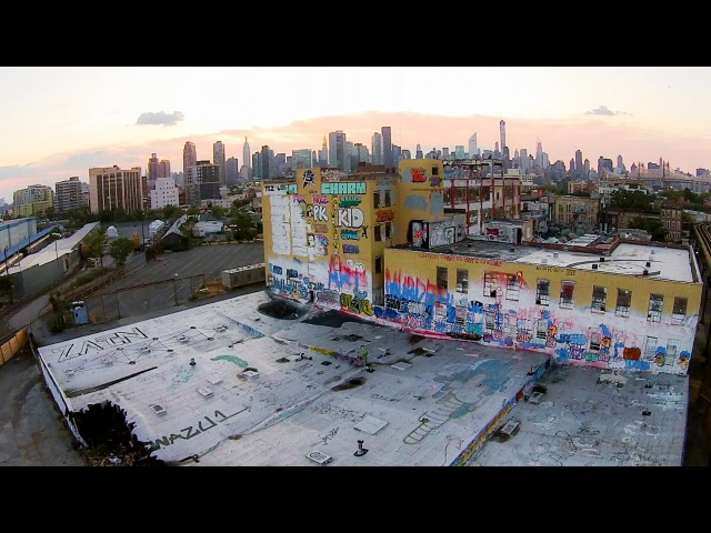 Looking Down on 5 Pointz