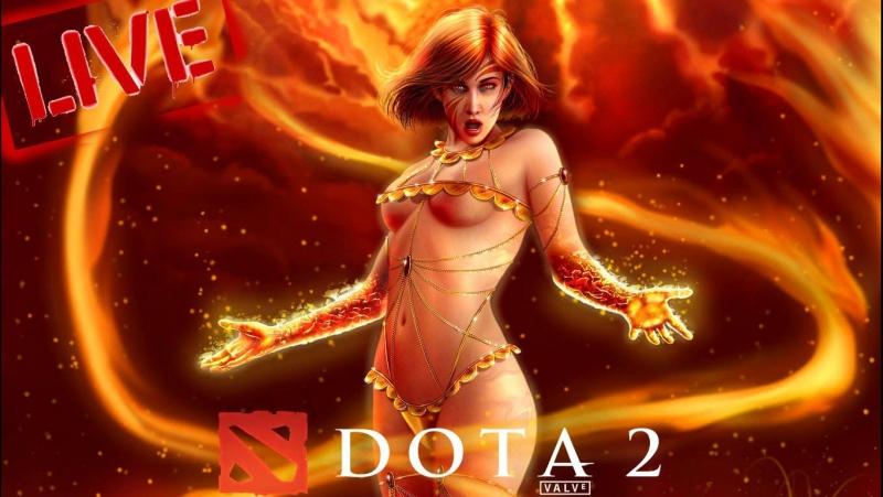 Stream M1Game Dota 2 открываем сокровищницу VS Gameplay MMR 1K