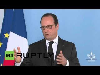 """Франция: Олланд благодаря информаторов на наличие утечек """"Панама Документы""""."""
