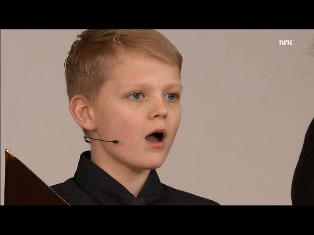 Miserere mei Deus Allegri Nordstrand Church Choir Aksel Rykkvin 12y treble NRK
