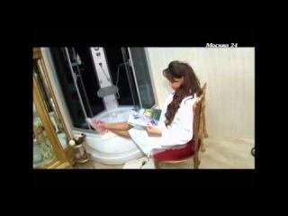 Японские педикюрные носочки SOSU, лицо бренда Анна Калашникова на канале Москва 24
