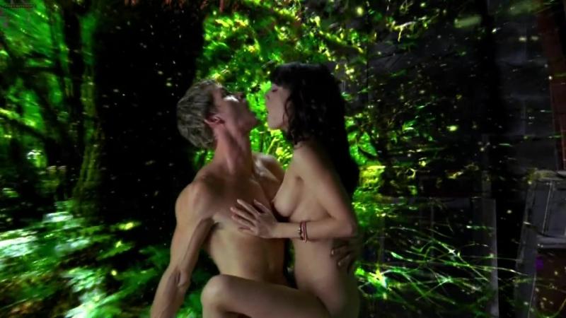 """Лиззи Каплан (Lizzy Caplan sex scenes in """"True Blood"""" s1e9 2008)"""