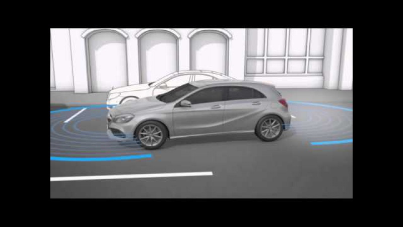 Активная система облегчения паркования Mercedes Benz W176 A Class